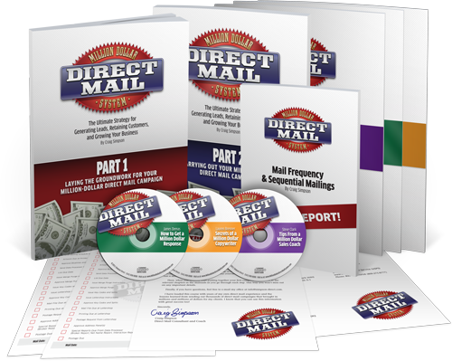 Million Dollar Direct mail System